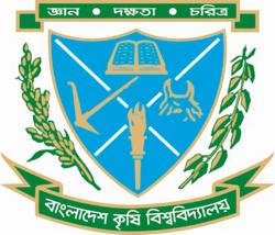Bangladesh Agricultural University Logo