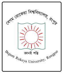 Begum Rokeya University Logo